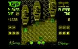 Sky Shark Amstrad CPC Tanks attacking!