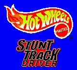 Hot Wheels: Stunt Track Driver Game Boy Color Title screen