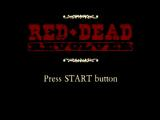Red♦Dead Revolver PlayStation 2 Title Screen