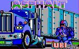 Asphalt Amstrad CPC Load screen