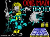 One Man and His Droid ZX Spectrum Loading screen