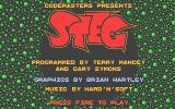 Steg the Slug Atari ST Title screen