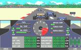 Nigel Mansell's Grand Prix Atari ST Fighting it out down to turn 1