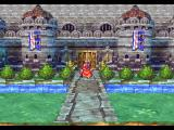 Dragon Quest IV: Michibikareshi Monotachi PlayStation Some castle entrances have this cool 3D-scrolling view instead of the usual top-down one