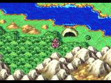 Dragon Quest IV: Michibikareshi Monotachi PlayStation Ryan at the cave entrance