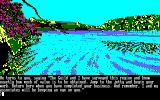 The Guild of Thieves Amstrad CPC The starting location