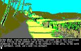 The Guild of Thieves Amstrad CPC Nice field of wheat...
