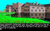 The Guild of Thieves Amstrad CPC An impressive looking mansion!