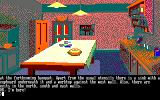 The Guild of Thieves Amstrad CPC Searching the kitchen