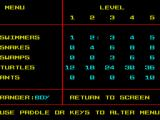 Park Patrol ZX Spectrum The tasks for each level