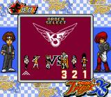 The King of Fighters '96 Game Boy Selecting the battle order.