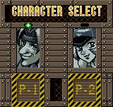 Metal Slug 2nd Mission Neo Geo Pocket Color Selecting a soldier.