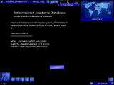 Uplink: Hacker Elite Windows Hack the International Academic Database - Welcome screen