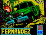 Fernandez Must Die ZX Spectrum Loading screen