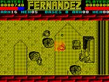 Fernandez Must Die ZX Spectrum The shading on the trees is subtle