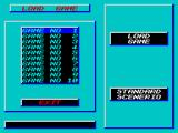 Star Control ZX Spectrum Loading the main missions