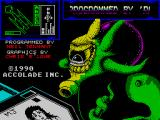 Star Control ZX Spectrum Loading screen