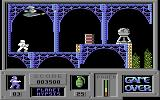 Game Over Commodore 64 First world: planet Hypsis