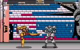 Metal & Lace: The Battle of the Robo Babes DOS Dodging a kick...