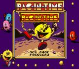 Pac-in-Time Game Boy Main menu.