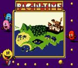 Pac-in-Time Game Boy Map screen.
