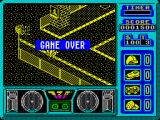 720º ZX Spectrum Game over