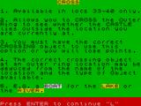 Rescue ZX Spectrum Many rivers to cross