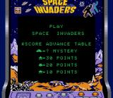 Space Invaders Game Boy Score table (Super Game Boy)