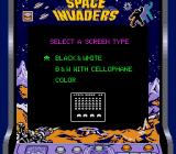 Space Invaders Game Boy Choose your favorite screen type to play this classic! (Super Game Boy)
