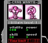 Saban's Power Rangers: Time Force Game Boy Color The first boss to defeat.