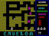 Cavelon ZX Spectrum Moving through the maze
