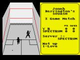 Jonah Barrington's Squash ZX Spectrum The ball's gone dead