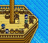 Dragon Warrior Monsters 2: Tara's Adventure  Game Boy Color The game starts on a ship...