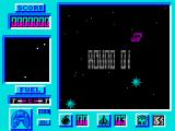 Bosconian '87 ZX Spectrum Game start