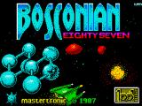 Bosconian '87 ZX Spectrum Loading screen