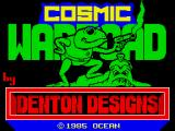 Cosmic Wartoad ZX Spectrum Toading screen