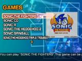 Sonic Gems Collection GameCube Game Menu
