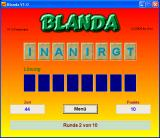 "Blanda Windows Guessing a word - if you don't see it, it's ""training"""