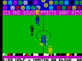 Indoor Soccer ZX Spectrum Game start
