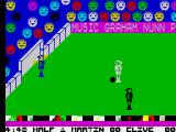 Indoor Soccer ZX Spectrum Great chance to score
