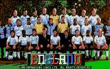 England Championship Special DOS Title screen.