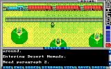 Wasteland DOS Referencing a 'paragraph' enhances the story (EGA)
