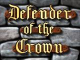 Defender of the Crown Windows Title screen