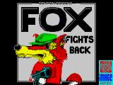 Foxx Fights Back ZX Spectrum Loading screen