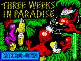 Three Weeks in Paradise ZX Spectrum Loading screen