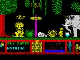Three Weeks in Paradise ZX Spectrum Elephant, honey. It's an elephant