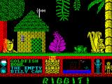 Three Weeks in Paradise ZX Spectrum Hut, hut, hut