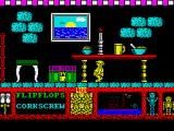 Three Weeks in Paradise ZX Spectrum Give me the corkscrew, I'll drink you under the table