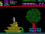 Everyone's A Wally (The Life of Wally) ZX Spectrum You begin the game in the park and have punks and babies to avoid