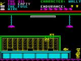 Everyone's A Wally (The Life of Wally) ZX Spectrum Inside the post office you must avoid the flying stamps of death